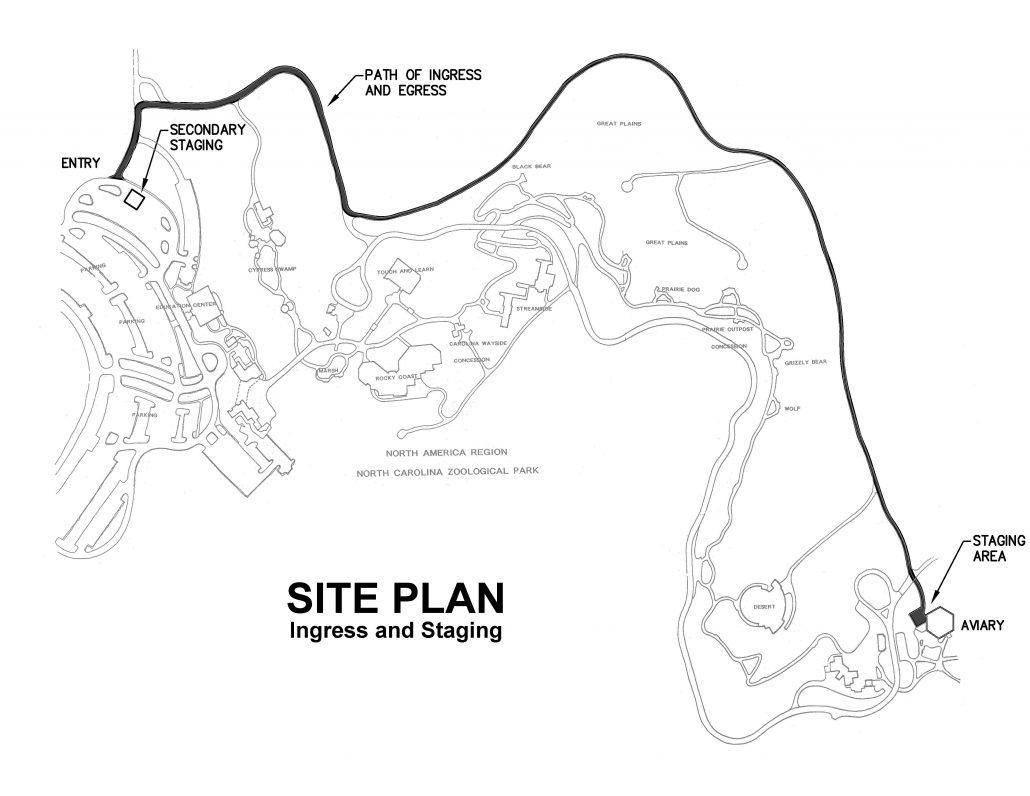 NC Zoo Aviary Dome – Edmondson Engineers