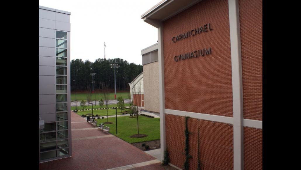 North Carolina State University Carmichael Gym Edmondson